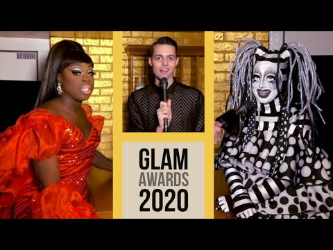 Red Carpet at the 2020 Glam Awards with Nick Smith