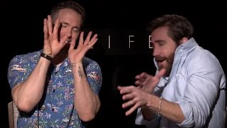 Jake Gyllenhaal & Ryan Reynolds have the #UltimateBromance | Hilarious Interview