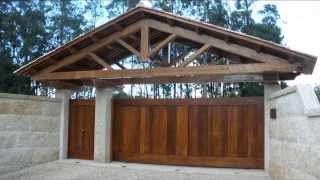 Ворота откатные(Видео-блог о дизайне, архитектуре и стиле. Идеи для тех кто обустраивает свой дом, квартиру, дачу, садовый..., 2013-09-29T19:03:13.000Z)