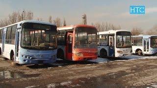 30% автобусов Бишкека пришли в негодность / 19.11.18 / НТС