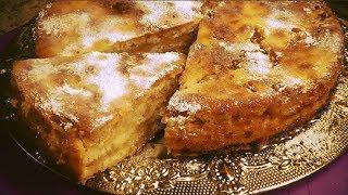 Яблочный пирог Три Стакана. Очень вкусный, сочный, без жира и яиц