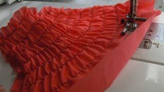 видео Как шить ниткой резинкой Технология пошива с использованием нитки резинки