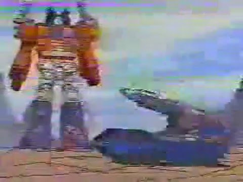 Transformers Powermasters Optimus Prime and Doubledealer Commercial 1988