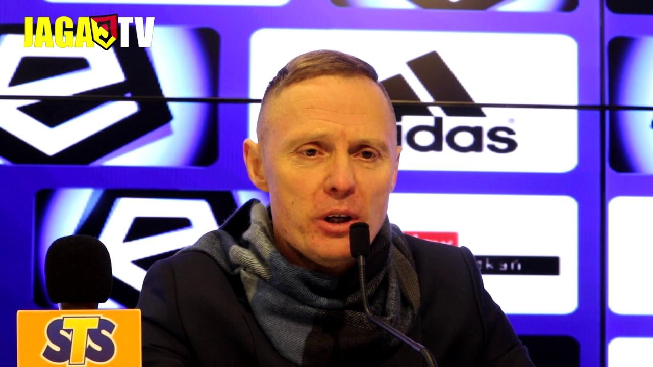 Konferencja prasowa po meczu Śląsk-Jagiellonia (15.12.2017)
