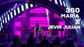 """maria ft jevin julian – risalah hati dewa """" 360 indonesian idol experience"""