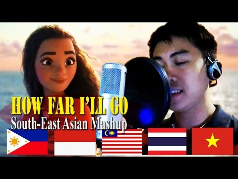 Disney's Moana - HOW FAR I'LL GO South-east Asian Mashup (Genderbent)
