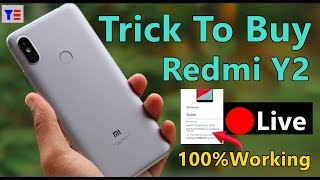 Trick To Buy  Redmi Y2 (3GB RAM/ Grey ) From Amazon | Live Flash sale Proof | Working for all Sale