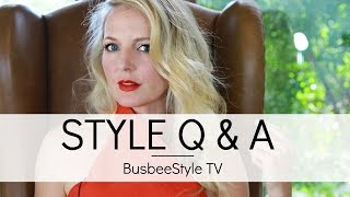 Viewer Q & A | BusbeeStyle com