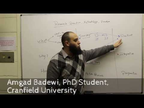 Research Question, Methodology, And Paradigm (English Part-1)