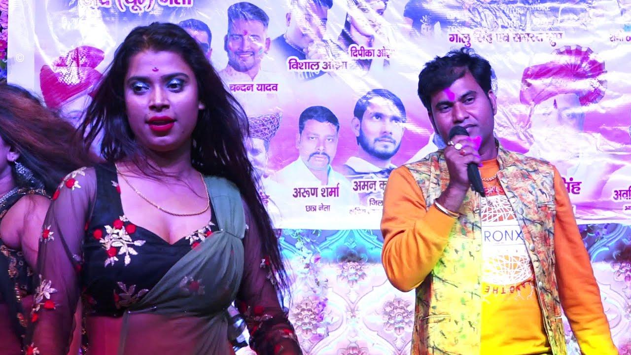 देखिये Sharwjeet Singh का हिट स्टेज शो ! Bhojpuri Live Stage Program