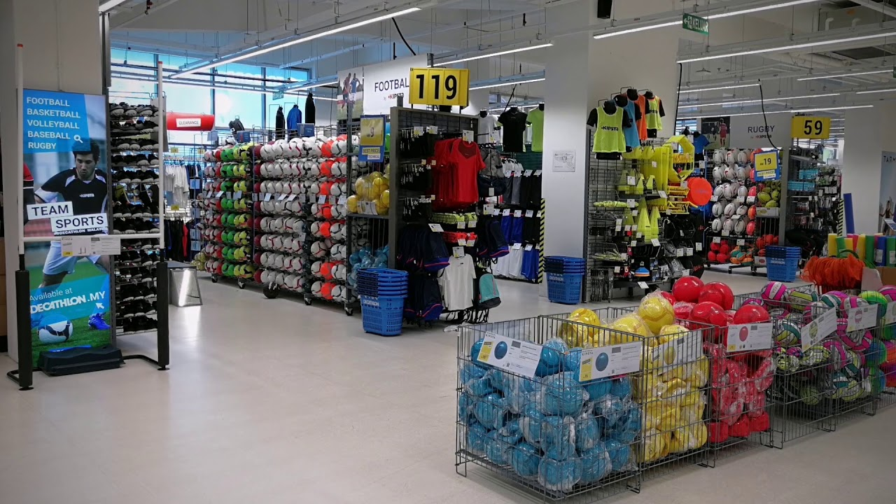 Decathlon Malaysia Sporting Goods Megastore - YouTube 714f94c334e9