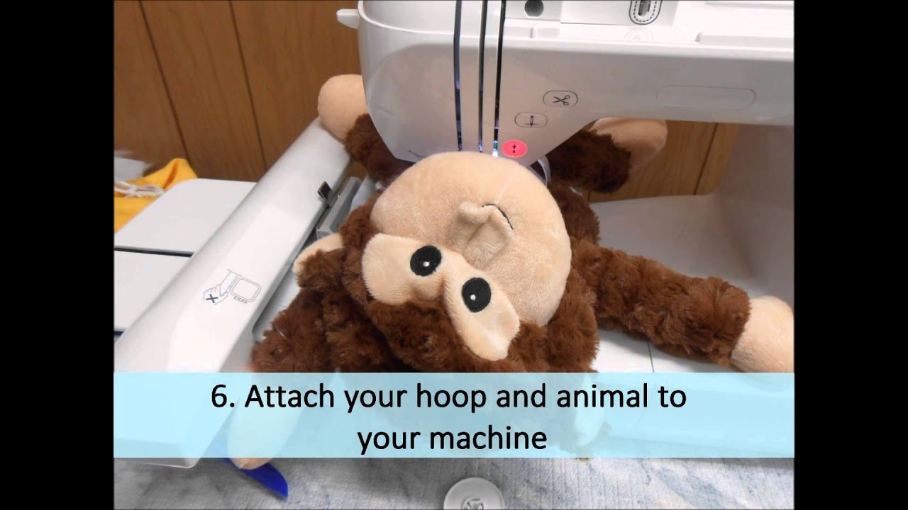 How To Embroider Eb Bears And Cubbies With Your Embroidery Machine  Youtube