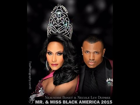 Mr and Miss Black America 2015