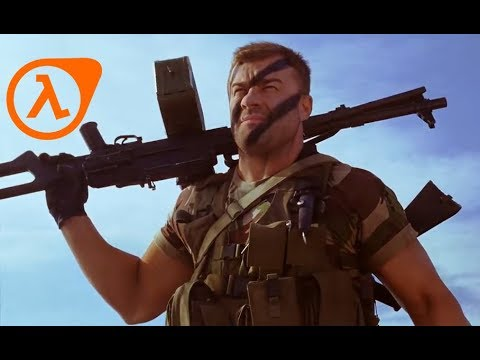 День Д - Rus Commando but with Half Life SFX Dub