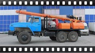 Буровая установка УРБ 2а2 на базе шасси Урал (3 фильма)(Бурaгрегат)