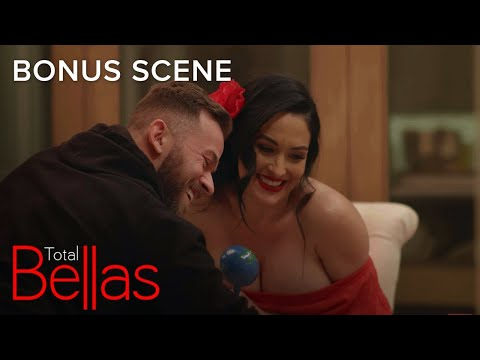Nikki Bella Reveals Her Unborn Child's Sex to Her Father | Total Bellas Bonus Scene | E!