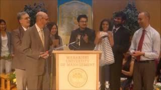 Four Computer Science Master's Graduates Receive Awards at MUM