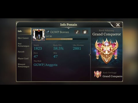 AOV WITH GGWP BOREAN,  PUSH RANK LAGI KAWAN KAWAN !!!  (18+)
