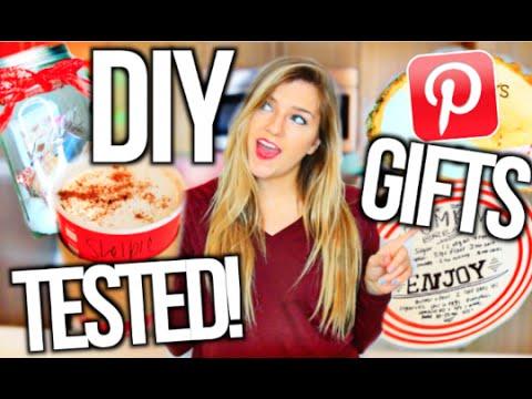 DIY Christmas Gifts TESTED! Testing Pinterest Hacks
