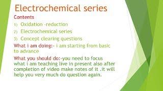 electrochemicalseries