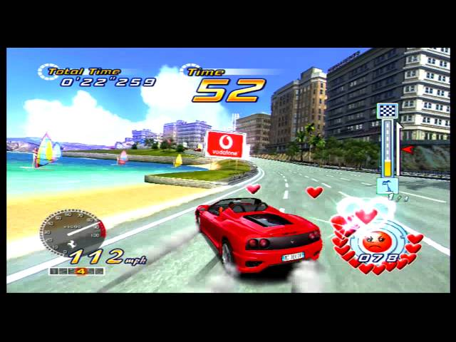 OutRun 2 (Xbox) gameplay