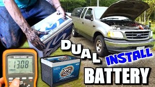 Wiring Up TWO Batteries w/ XS Power D3400 & XP3000 | NVX 4th Order Blowthrough Install PART 10