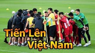 Thử Thách Bóng Đá Asian Cup 2019 đi xem Quang Hải Công Phượng Đặng Văn Lâm ĐT Việt Nam VS Jordan