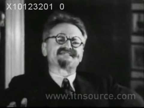 Trotsky's speech in Copenhagen (Denmark) / Trotskyren hitzaldia Kopenhagen (Danimarka)