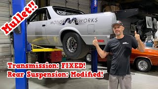 Mullet El Camino! Transmission Back In and Rear Suspension Modifications!!
