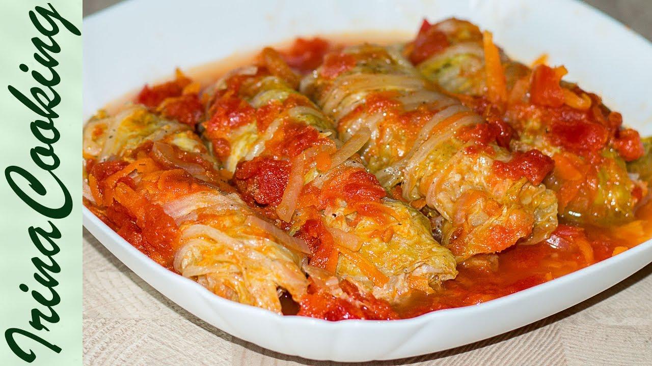 Быстрые Голубцы С Пекинской Капустой ✧ Stuffed Cabbage Rolls Recipe ✧ Ирина Кукинг