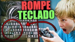 NIÑO RATA ROMPE TECLADO POR TROLLEO | TROLLEOS EN MINECRAFT #118