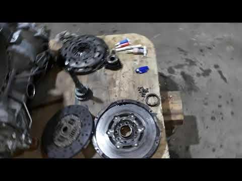 Ford Transit AWD замена сцепления часть 6