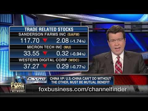Investor worries over US-China trade talks
