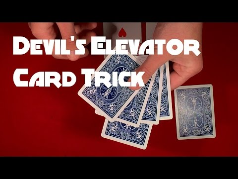Devil's Elevator Card Trick REVEALED!