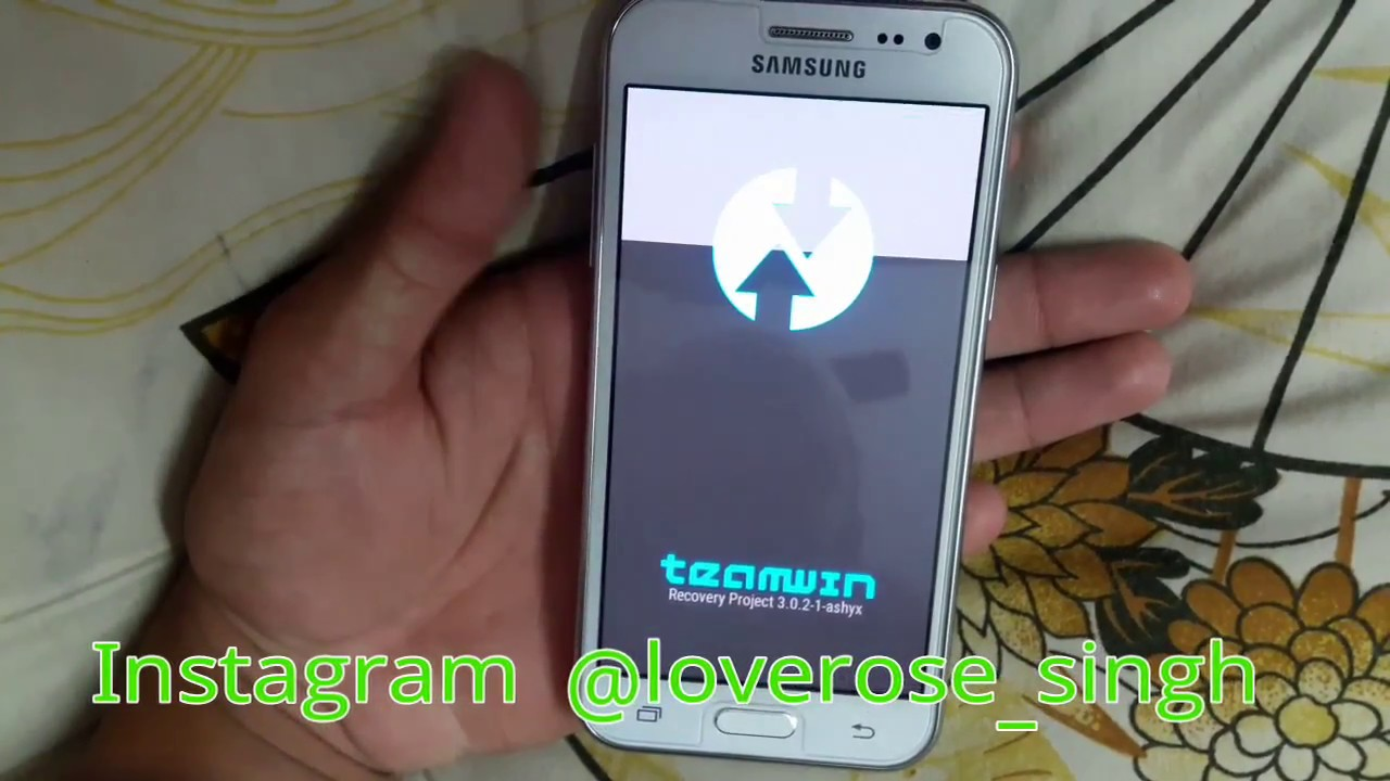 How to root Samsung j200h 3g with Twrp Easy method