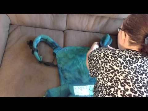 How to Fold a Soft Structure Baby Carrier
