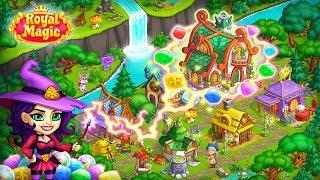 ROYAL MAGIC MATCH 3 Gameplay (Android IOS)