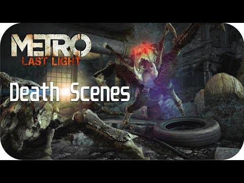 Metro: Last Light Death Scenes and Scariest Moments Metro Redux |