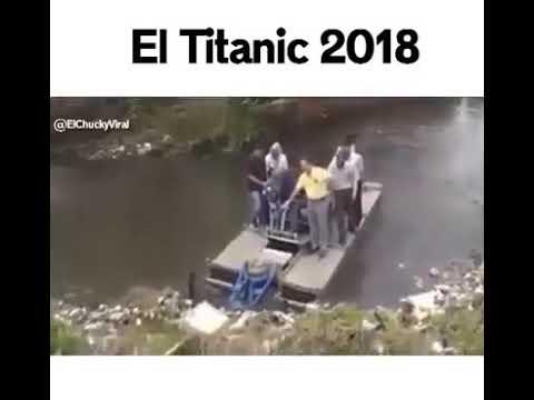 El titanic 2018 100 % real no fake