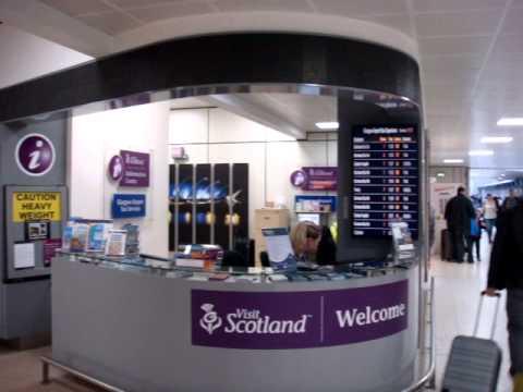 Glasgow Scotland Airport Arrivals