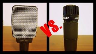Shure SM57 vs Sennheiser E609