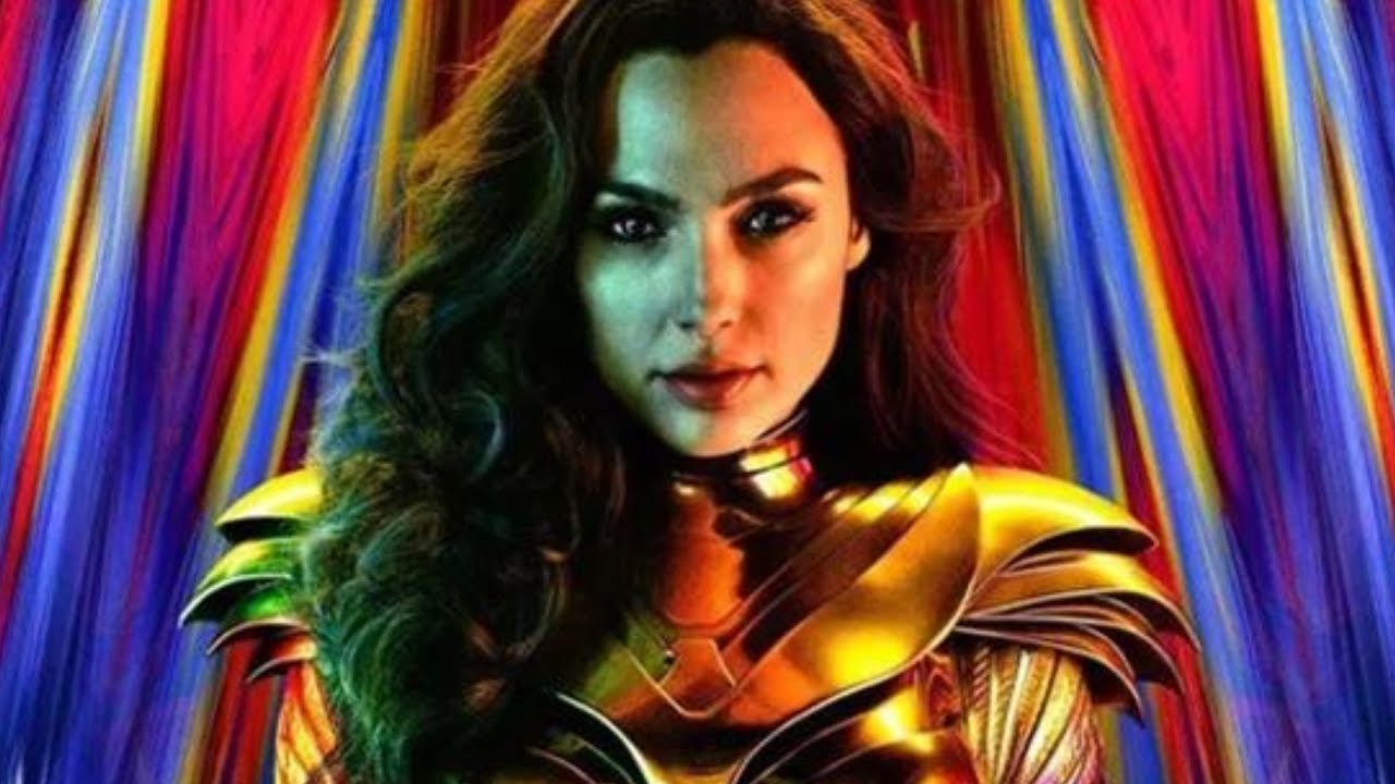 New Wonder Woman 1984 Poster Is Totally 80s Youtube