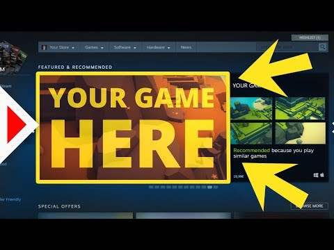 How To Sell Your Game On Steam!