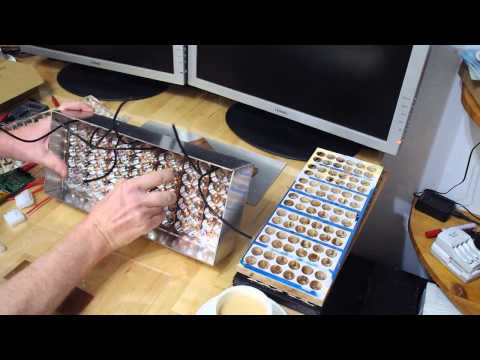 How to build a Li-ion battery pack with panasonic 18650 cells 3100mah A