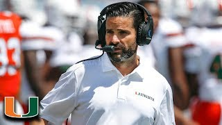 New Coaches Of The ACC:  Miami's Manny Diaz