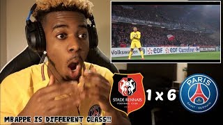 RENNES 1 X 6 PSG - All Goals & Highlights 07/01/2018 😱🔥 | Reaction