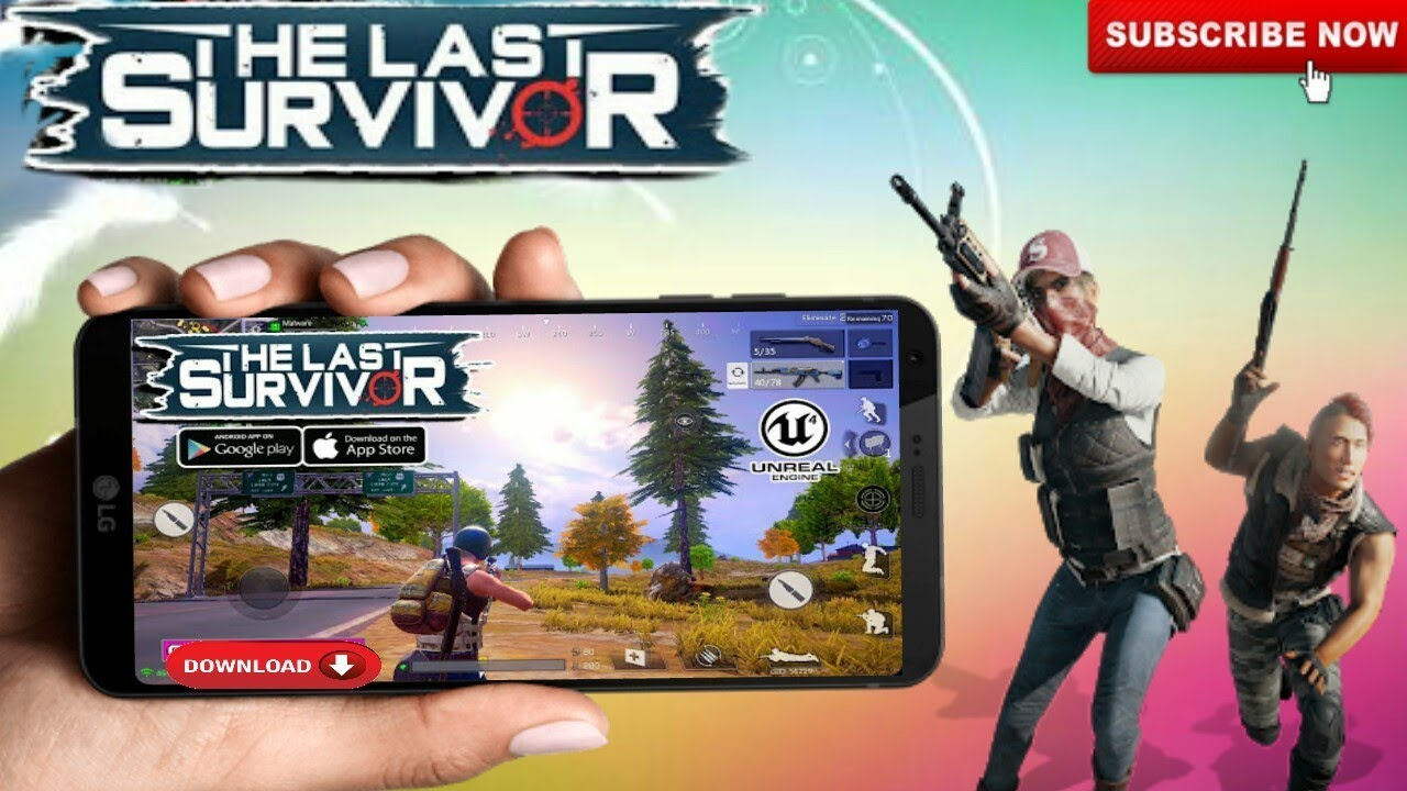 Download The Last Survivor : Stay Alive Game For Android [ Apk + Obb ] | DINNER CHICKEN 1st Gameplay  #Smartphone #Android