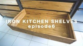 [DIY] Iron Kitchen shelves ep.6 ☆ アイアンシェルフ その6