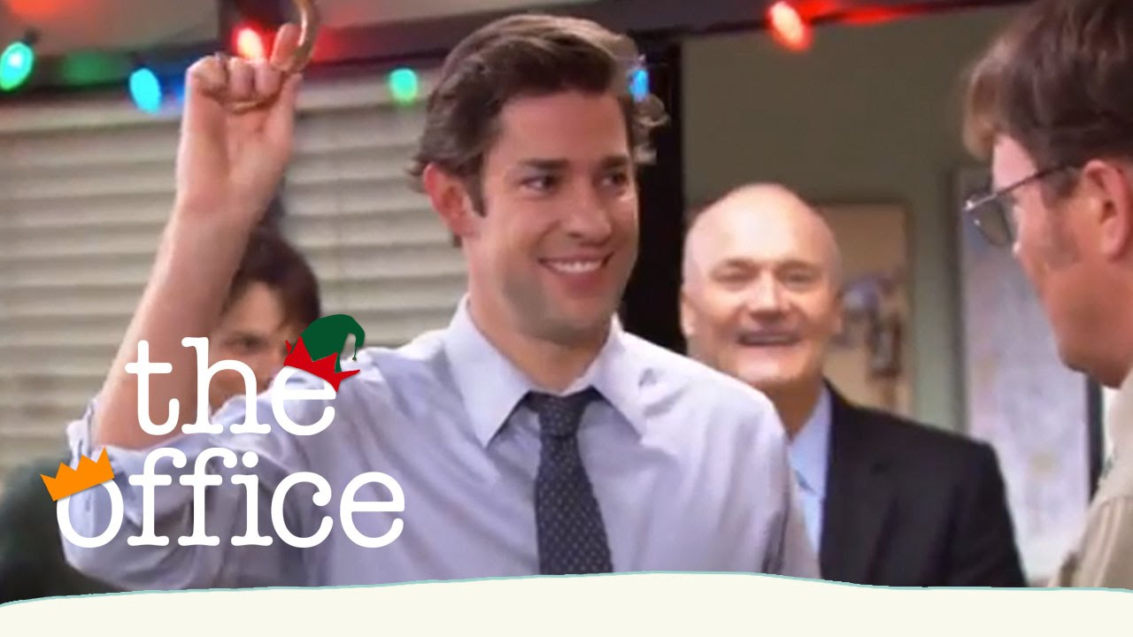 Jim Saves the Christmas Party - The Office US - YouTube