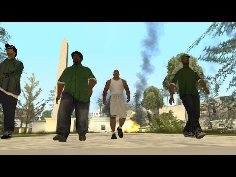 What Happens If There's A Meteor Storm During Big Smoke? In The Beginning Mission 2 -GTA San Andreas